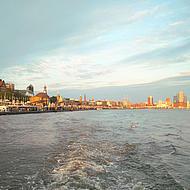 Hamburgs hamn.