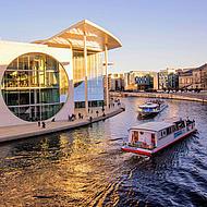 Flodbåtar i Berlin.